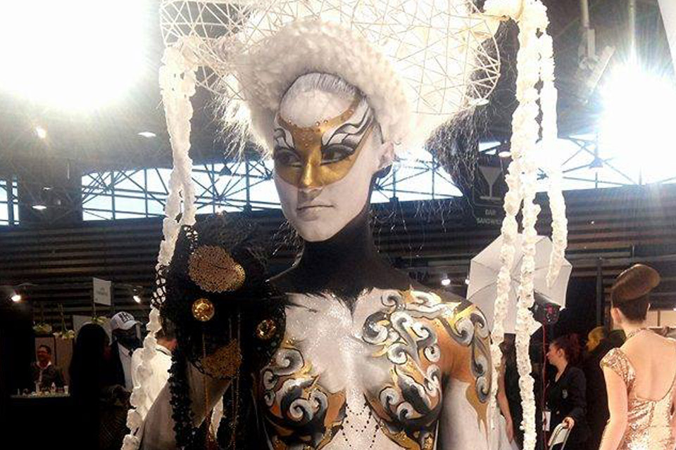 Body painting maquilleuse lyon