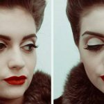 Maquillage retrospective Elodie Marcos