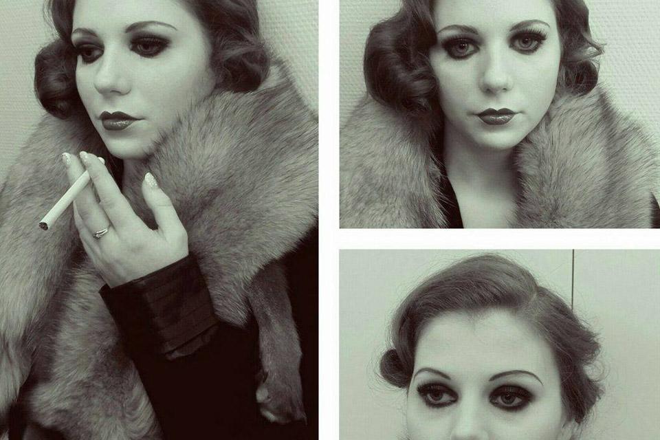Maquillage années 20