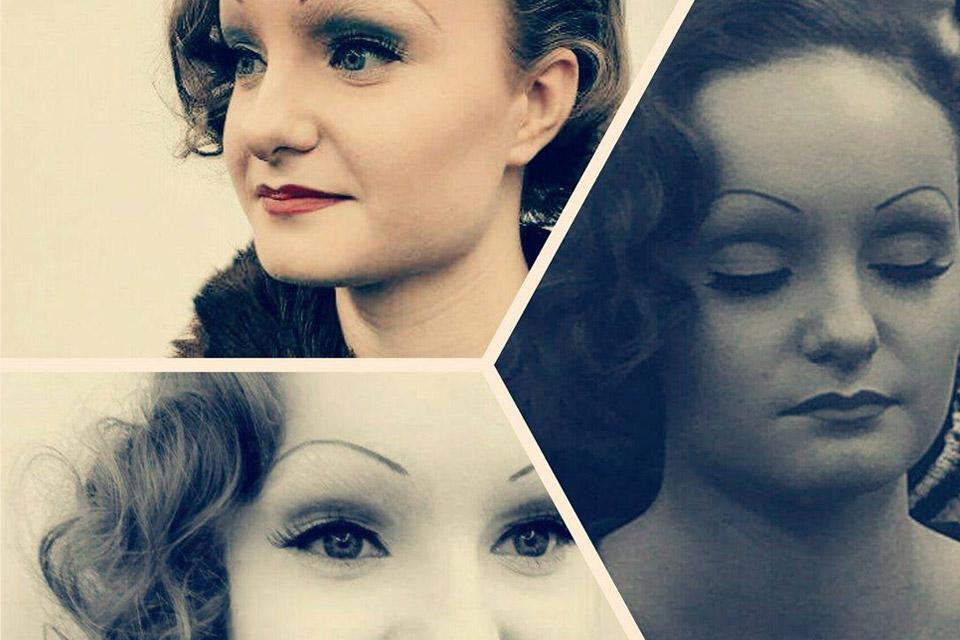Maquillage années 30