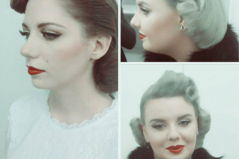 Maquillage années 50