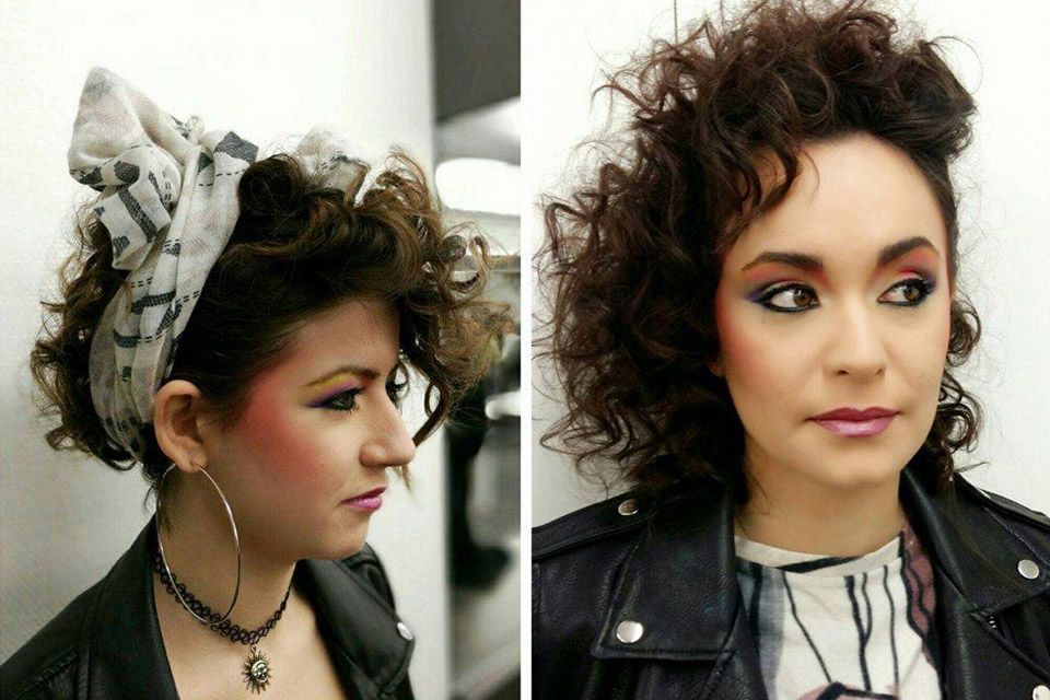 Maquillage années 80