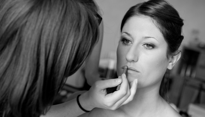 Maquillage bouche mariage lyon