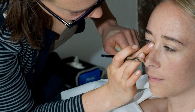 Maquillage nude mariage lyon