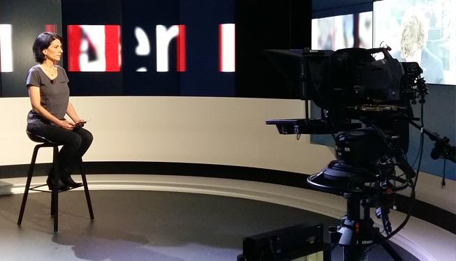 Maquilleuse coiffeuse présentatrice TV