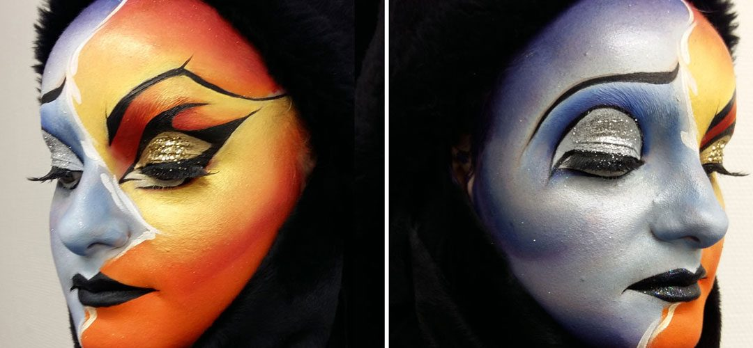 maquillage theme artistique lyon