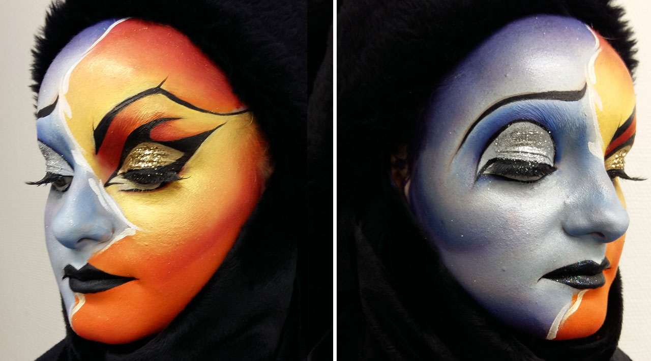maquillage artistique face painting